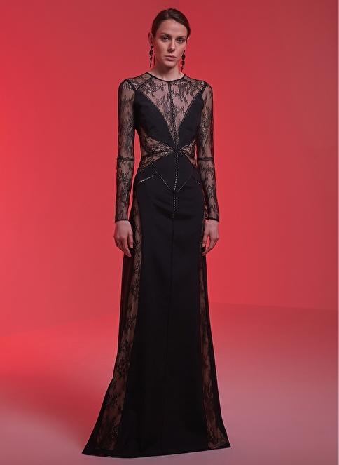 Museum Of Fine Clothing Uzun Abiye Elbise Siyah